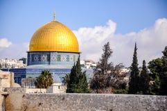 Le dôme de la roche, Jérusalem, Israël Photographie stock