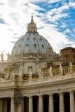 Le dôme de St Peter Images stock