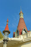 Le dôme du palais Phayathai Photo libre de droits