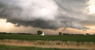 Le Dakota du Nord Supercell Photos stock