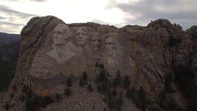 Le Dakota du Sud aérien Mt Rushmore clips vidéos