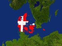 le Danemark Image libre de droits