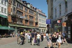 Le Danemark, Copenhague image libre de droits