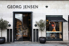 Le Danemark - le Georg Jensen images stock