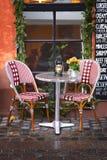 Le Danemark : Restaurant confortable et hiver Photographie stock libre de droits