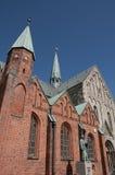 Le Danemark Ribe l'église photographie stock