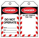Le danger n'actionnent pas le signe de symbole, illustration de vecteur, d'isolement sur le label blanc de fond EPS10 illustration stock