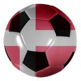 Le danois du football Photo libre de droits
