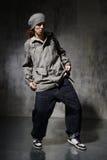 Le danseur Images libres de droits