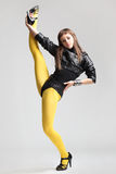 Le danseur moderne image libre de droits