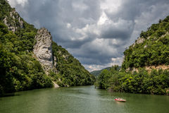 Le Danube | Decebalus Rex images stock
