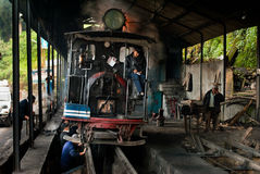 Le Darjeeling Toy Train Image libre de droits