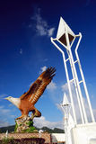 Le Dataran Lang (grand dos d'aigle) Images stock