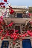Île de Chios, Pyrgi Photographie stock