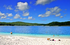 Île de Fraser, Australie Photos libres de droits
