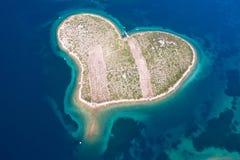Île de Galesnjak, Croatie Images stock