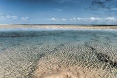 Île de Magaruque - Mozambique Images libres de droits