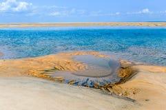 Île de Magaruque - Mozambique Photos stock