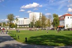 «Île de moulin» dans Bydgoszcz Images libres de droits