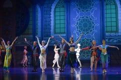 """Le  de Nights†de l'""""One mille et un de ballet d'appel de rideau Photo libre de droits"""