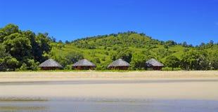 Île de paradis Images stock