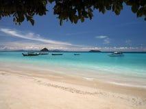 Île de phi de phi de Ko - mer d'Andaman - la Thaïlande Photos stock