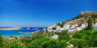 Île de Rhodes Photographie stock libre de droits