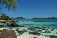 Île de Rong de KOH Photo libre de droits