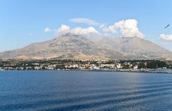 Île de Samothraki en Grèce Image libre de droits