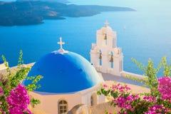 ?le de Santorini, Gr?ce photographie stock