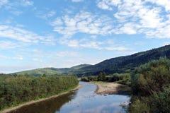 Le ` de Skolivski Beskydy de ` de gamme de montagne dans les Carpathiens ukrainiens près de la ville de Skole dans la région de L Images libres de droits