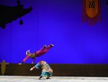 """Le  de teenager†de Pékin Opera""""Yue des moment-enfants sautants Photos stock"""