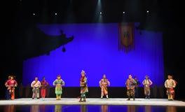 """Le  de teenager†de Pékin Opera""""Yue des Yue Army-enfants Photos stock"""