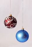 Le decorazioni dell'Natale-albero Fotografie Stock Libere da Diritti