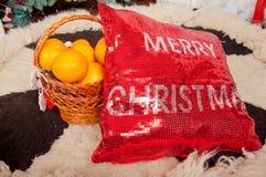 Le decorazioni di Natale e del nuovo anno Fotografia Stock