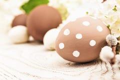 Le decorazioni di Pasqua si chiudono su Immagine Stock Libera da Diritti