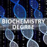 Le degré de biochimie montre l'illustration biotechnologique de la qualification 3d illustration de vecteur