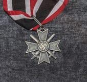 Le degré nazi croisé du chevalier photographie stock