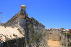 Le del Morro de Castillo de los Tres Reyes Image stock