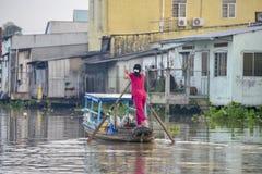 Le delta de Mekong, peut Tho, Vietnam Photo libre de droits