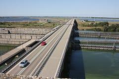 Le delta fonctionne la province de Zélande aux Pays-Bas Image libre de droits