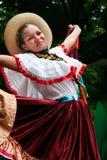 Le den latinska flickan Fotografering för Bildbyråer