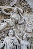 Le Depart de 1792 (La Marseillaise) Stockbild