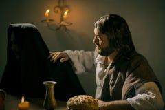 Le dernier dîner de Jesus Christ Photos stock