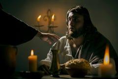 Le dernier dîner de Jesus Christ Photos libres de droits