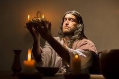 Le dernier dîner de Jesus Christ Images stock