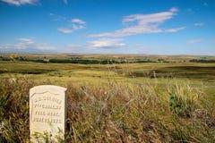 Le dernier support de Custer Photos libres de droits