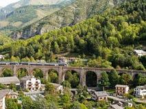 Le DES Merveilles de train près de Tende, Provence, France Photo stock