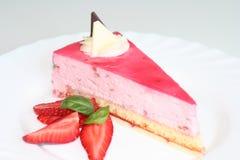 Le dessert de la fraise photos libres de droits