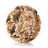 Le dessert savoureux préparé à partir de diverses graines et sec porte des fruits, images libres de droits